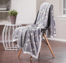 Stars Luminous Gray Throw