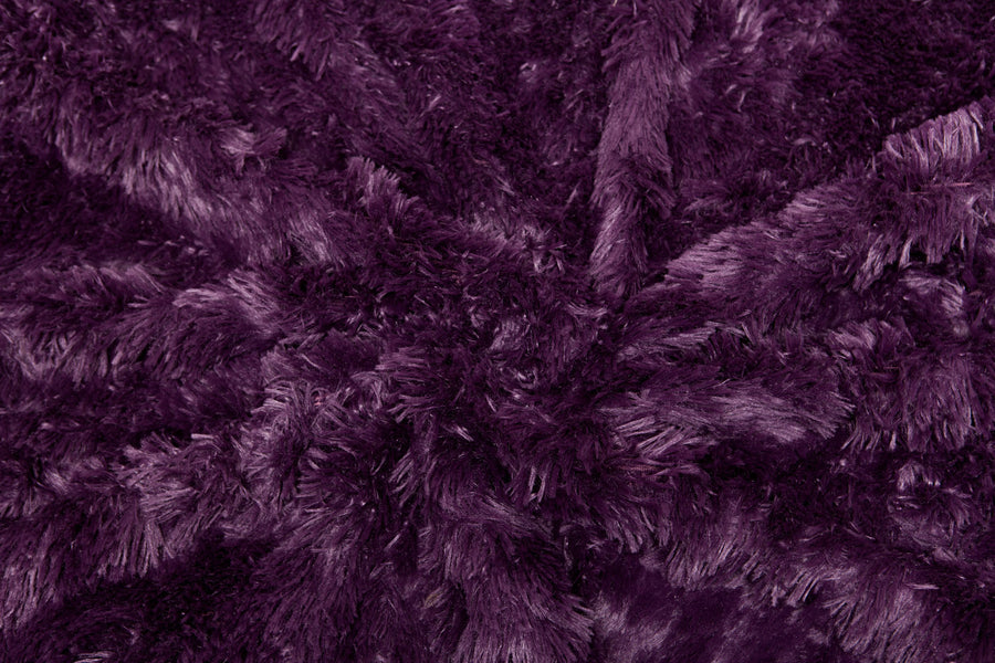 Solid Long Fur TPC Aubergine Combo
