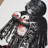 Blood Moon Screen Print