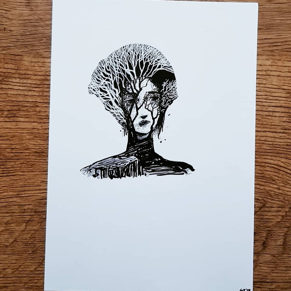 """Portrait"" Original Drawing"