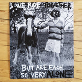 We Ride Together But Are Each So Very Alone - Giclée Print