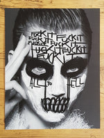 Fuck It All To Hell - Giclée Print