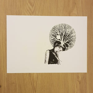 Original drawing Treehead