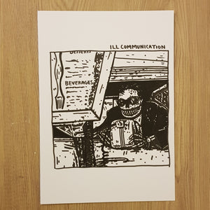 Original drawing Ill Communication