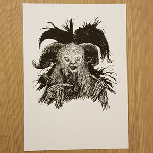 Original drawing Faun/Pan's Labyrinth