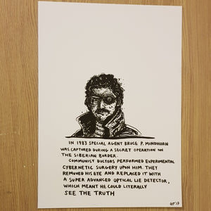 Original drawing Mindhorn