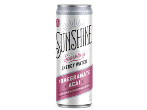 Sparkling Energy Water - Pomegranate Acai (12 pack)