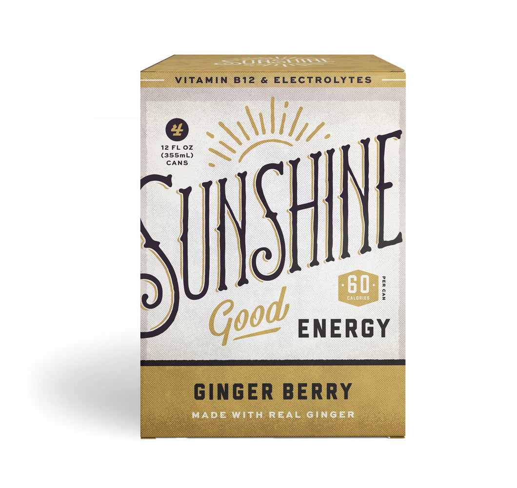 Ginger Berry 12oz - 6 - 4 packs (24 cans)