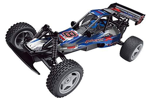 Global Gizmos X-BRAVE High Speed RC Off Road Remote Control Racing Car - 1:10 Scale, 45cm long, 30km/h speed - 54440