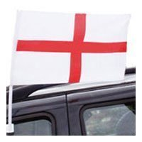 Squizzas! Twin 2 Pack of England Car Flags