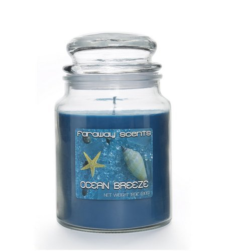 LIBERTY CANDLES Faraway Scents Ocean Breeze - 18oz