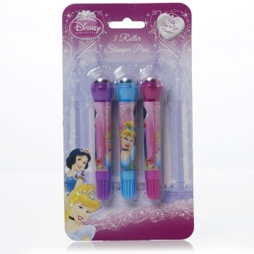 3 Princess Roller Stampers
