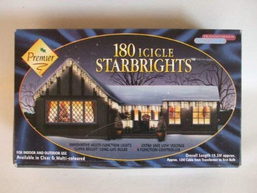 180 Multi Coloured Icicle STARBRIGHTS