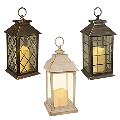 30cm Lantern with Candle Light