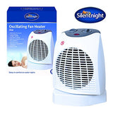 Silentnight 38420 Fan Heater, 2000 W