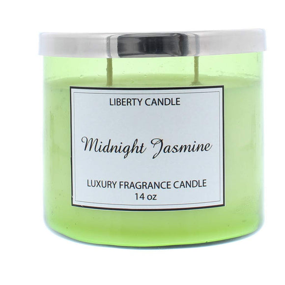 LIBERTY CANDLES Scented Candle, 14oz Twin Wick Premium Soy Wax