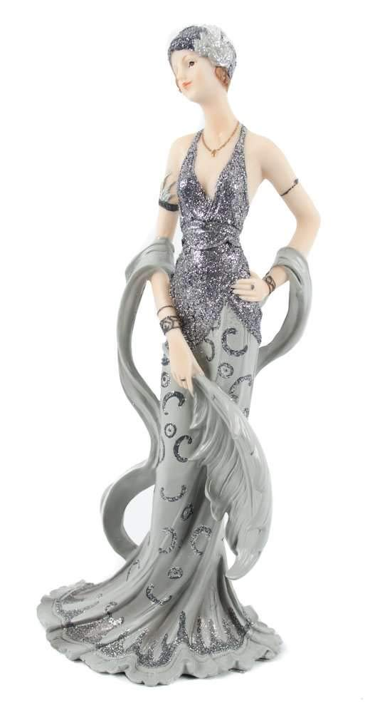 Juliana Broadway Belles Art Deco Figurine Sculpture Midnight Shimmer June