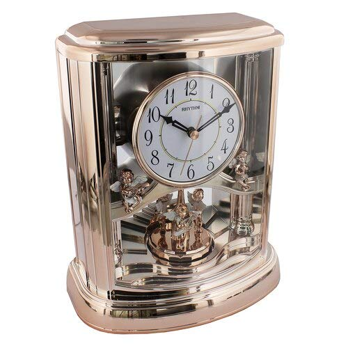 Rhythm Clock - 4RH741WS13 - Rose Gold