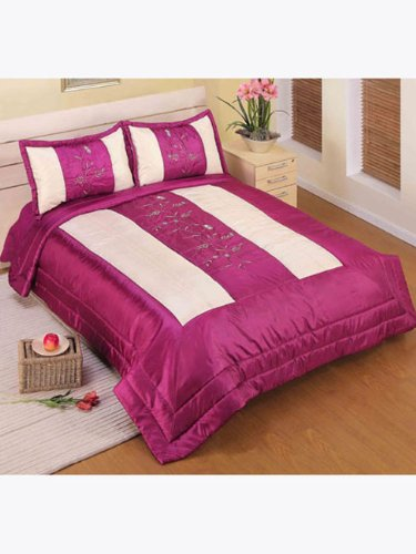 Elegance Home 'Gemma' Double/King Bedspread with 2 Pillowshams
