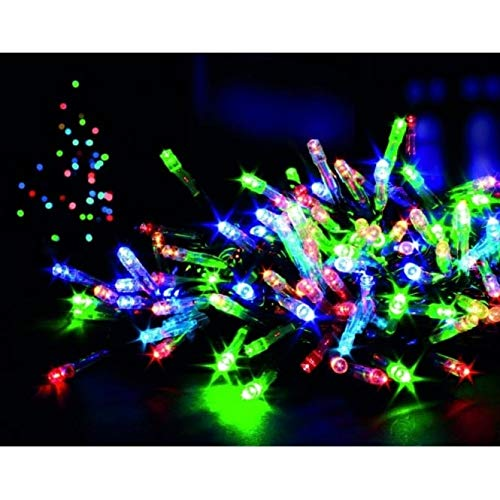 160 Multi Coloured Indoor/Outdoor LED Lights