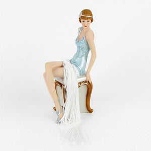 "Art Deco Figurine ""Gatsby Girls"" Irene"