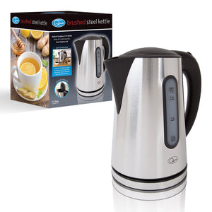 Brushed Stainless Steel Cordless Jug Kettle