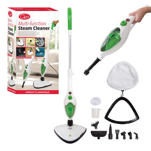 Multi Function Upright and Handheld 10 in 1 Steamer and Mop with Attachments