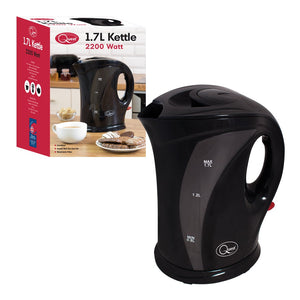 1.7L Black Jug Kettle