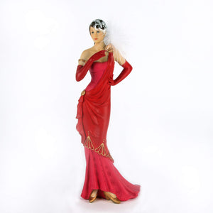 Stunning Art Deco Figurine Charleston Lady - Lillian