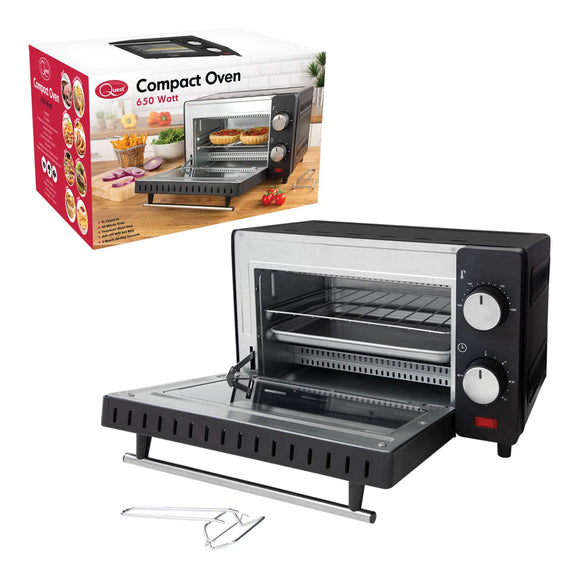 9 Litre Mini Oven and Grill, 100-230°, 60 min Timer
