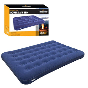 Camping Double Flocked Airbed