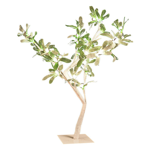 The Christmas Workshop 32 LED Mistletoe Tree ~ Warm White ~ Indoor ~ Christmas Decoration ~ Mains Operated ~ 76940