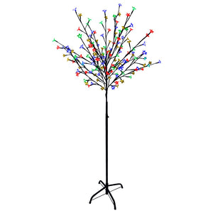 1.2 m 100 LED Blossom Tree Lights - Multi-Colour
