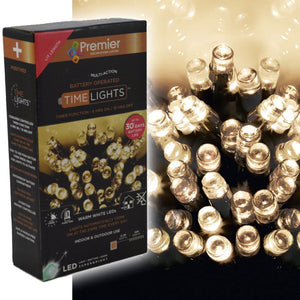 600 Battery Time Lights - Warm White