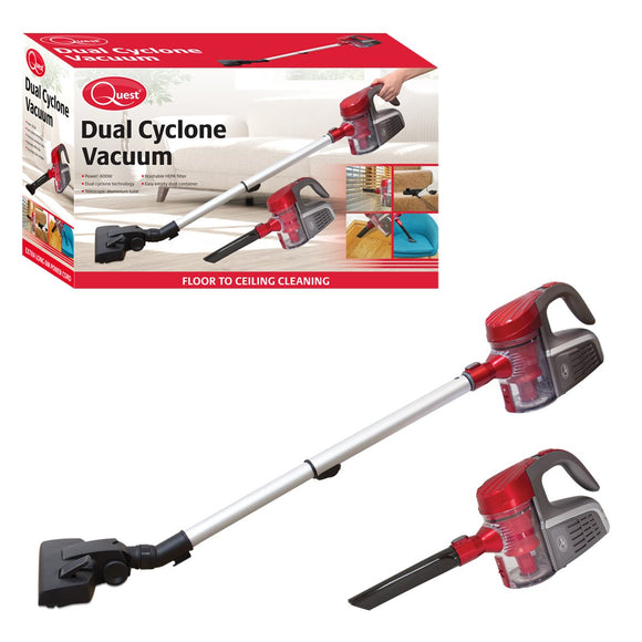600W Dual Cyclone & Handheld Vacuum Cleaner