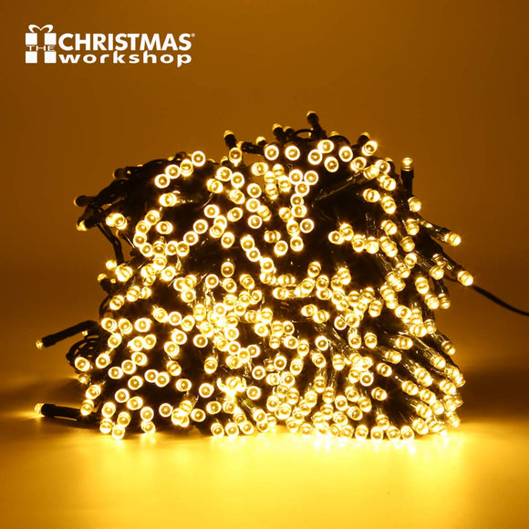 600 LED Warm White Chaser lights, Indoor and Outdoor