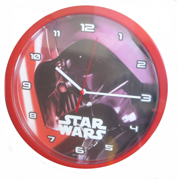 Star Wars Kids Bedroom Wall Clock - Darth Vader