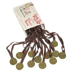 Sports Medals With Ribbon, Kids Plastic Winners Medals