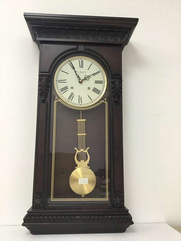 Widdop Bingham Wooden pendulum Mantle/Wall clock Rounded Top