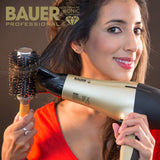 Bauer Professional TourmaPro 2200W Salon Quality Tourmaline Ionic Hair Dryer With Concentrator Nozzle 38830