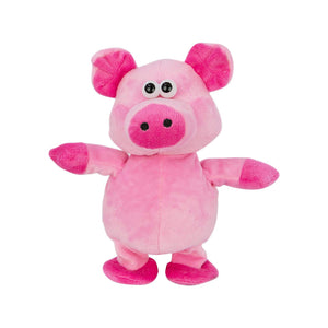 Pink Plush Pig - Walking, Talking, Voice Mimicking Sound Recorder Toy