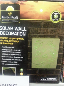 SOLAR WALL DECORATION LIGHT