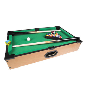 50 x 30 cm Deluxe Table Top Pool Game/Snooker Table Game