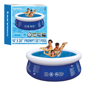 10ft Garden Round Inflatable Prompt Set Swimming Pool