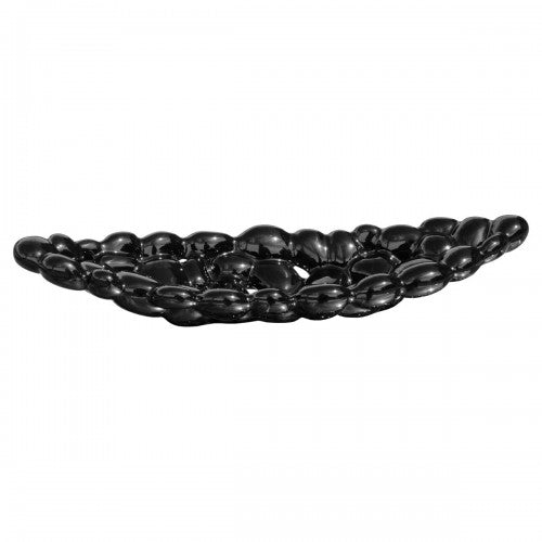 Small Ceramic Bubble Tray - Black