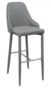 Duncan Light Grey Bar Stool