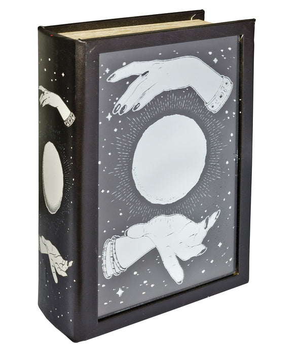 Crystal Ball Mirrored Book Box