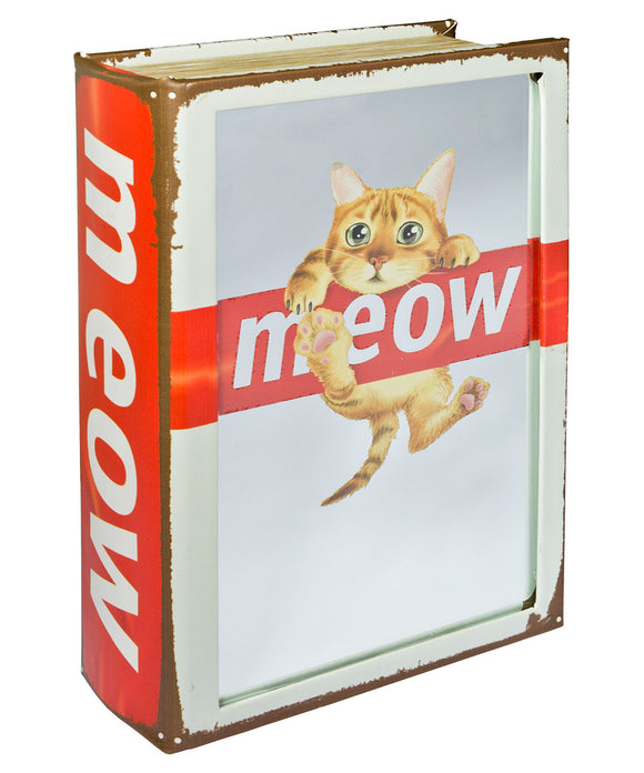 Meow Mirrored Book Box