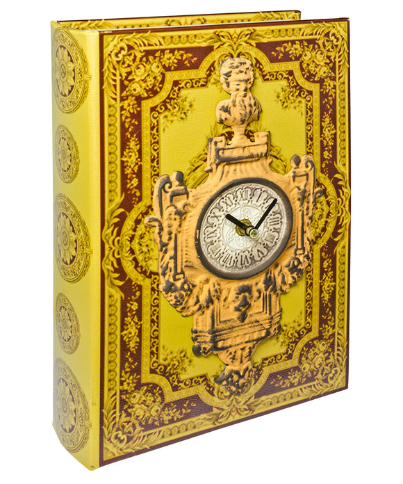 Vintage Clock Book Box