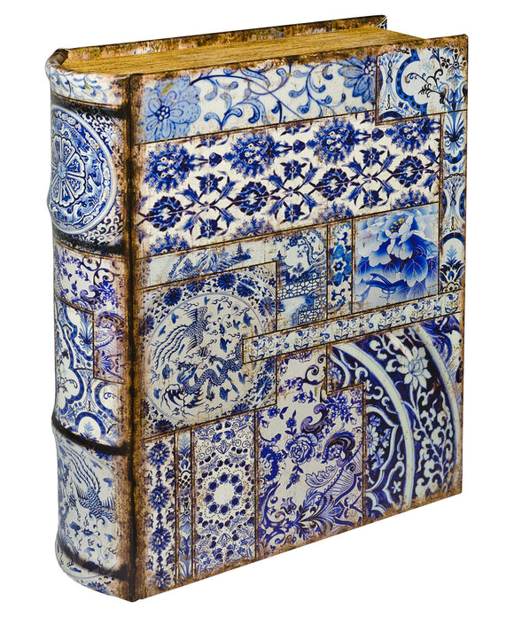 Chinese Tiles Large Book Box